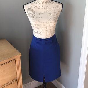 Banana Republic Cobalt Blue Skirt!